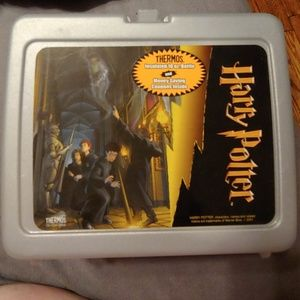 Vintage Harry Potter Lunchbox with Thermos